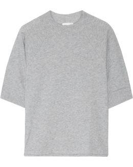 Pima Cotton-jersey Pajama Top