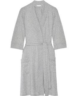 Pima Cotton-jersey Robe