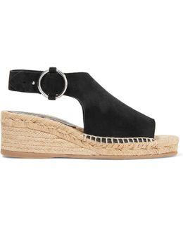 Calla Suede Espadrille Wedge Sandals