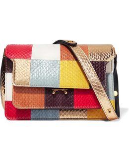 Trunk Patchwork Elaphe Shoulder Bag