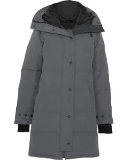 Shelburne Quilted Shell Down Parka