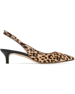 Ludlow Leopard-print Calf Hair Pumps