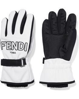 Two-tone Shell Ski Gloves