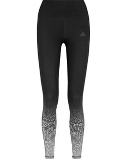 Miracle Sculpt Printed Climalite® Stretch-jersey Leggings