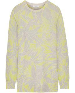 Rei Intarsia Cashmere Sweater