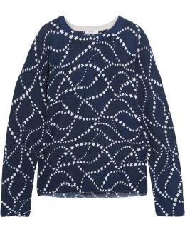 Sloane Intarsia Cashmere Sweater
