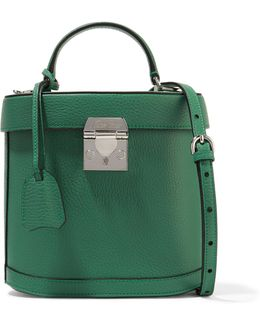 Benchley Textured-leather Shoulder Bag