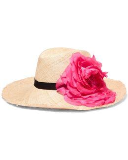Ailin Embellished Straw Hat
