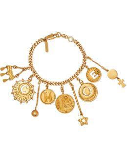Gold-tone Charm Bracelet