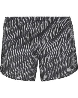 Tempo Mesh-trimmed Printed Shell Shorts