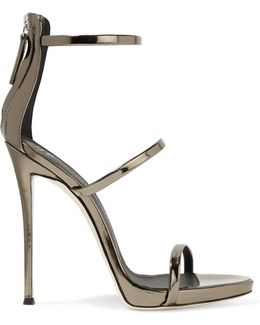 Harmony Metallic Leather Sandals
