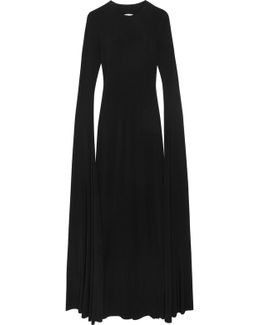 Open-back Jersey Maxi Dress