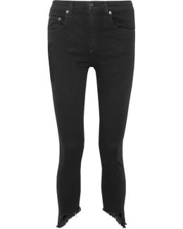 The Capri Cropped High-rise Skinny Jeans