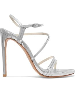 Follie Metallic Patent-leather Sandals