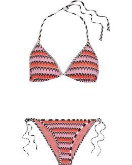 Mare Crochet-knit Triangle Bikini