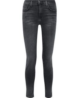 The High Waist Ankle Skinny Jeans