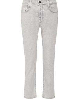 The Slouchy Skinny Cropped Jeans