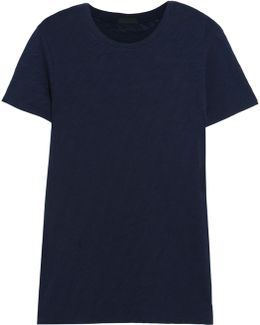 Schoolboy Slub Cotton-jersey T-shirt