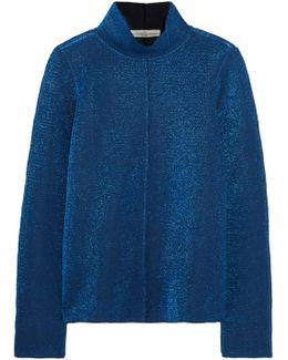 Diana Metallic Knitted Top
