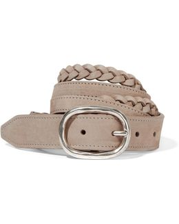Braided Nubuck Belt