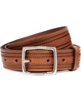 Tiegan Leather Belt