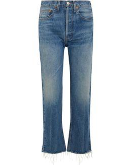 Originals High-rise Stove Pipe Straight-leg Jeans