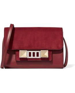 Ps11 Wallet Leather And Nubuck Shoulder Bag