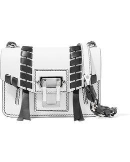 Hava Mini Whipstitched Leather Shoulder Bag