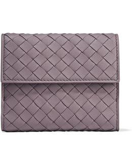 Intrecciato Leather Wallet