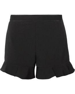 Ruffled Cady Shorts