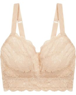 Never Say Never Curvy Sweetie Stretch-lace Soft-cup Bra