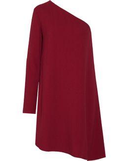 Sintsi One-shoulder Crepe Mini Dress