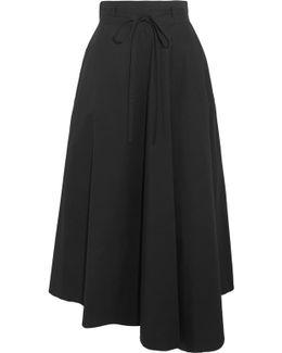 Jaberdina Cotton-blend Poplin Midi Skirt
