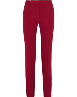 Hartsdale Crepe Straight-leg Pants