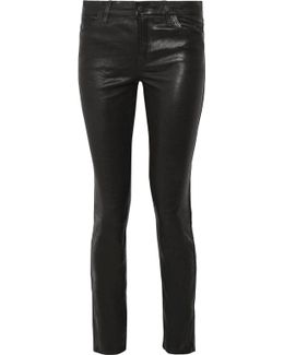 Maude Leather Skinny Pants
