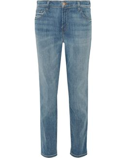 Johnny Distressed Boyfriend Jeans