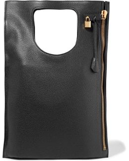 Alix Medium Textured-leather Tote
