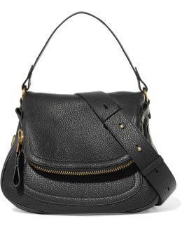 Jennifer Medium Textured-leather Shoulder Bag