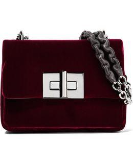 Natalia Velvet Shoulder Bag