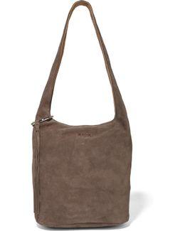 Finley Suede Shoulder Bag
