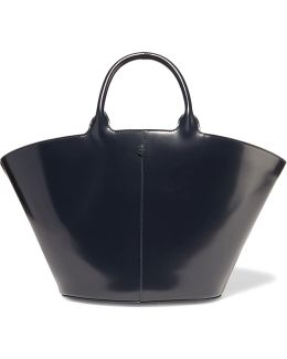 To Go Leather Tote