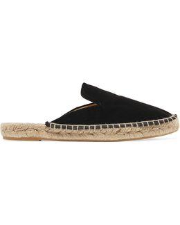 Velvet Espadrille Slippers