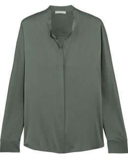 Stretch-silk Shirt