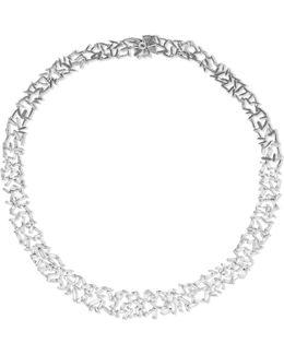 18-karat White Gold Diamond Necklace