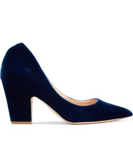 Cicely Velvet Pumps
