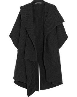 Ribbed Wool Cardigan