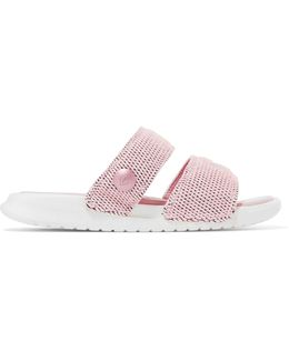 + Pigalle Lab Benassi Duo Ultra Textured-knit Slides