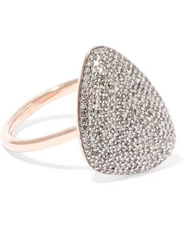 Nura Rose Gold Vermeil Diamond Ring