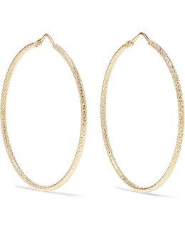 Large 18-karat Gold Hoop Earrings