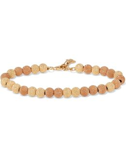 Florentine 18-karat Yellow And Rose Gold Bracelet
